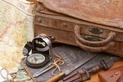 Viaggio ed avventura Immagini Stock Libere da Diritti