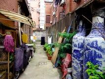 Vicolo di Shanghai Fotografia Stock