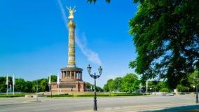 Victory column in Berlin, Germany stock video footage