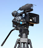 A video camera Royalty Free Stock Photos