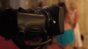 Video camera filming stock video