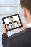 Video conference Royalty Free Stock Photography