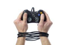 Videogame addiction Stock Image