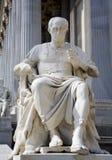 Vienna  - statue of Caesar Stock Images