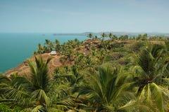 View from Cabo De Rama Fort. Goa, India Stock Photos