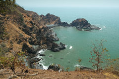 View from Cabo De Rama Fort. Goa, India Royalty Free Stock Image