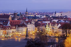 View on Erfurt in Germany Stock Images
