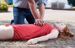 View of first aid Royalty Free Stock Images