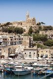 View of Mgarr port Stock Images