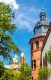 View of the Speyer Cathedral and the Historical Museum of the Pa Stock Photo