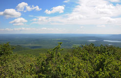 A view from the top of Bear Mountain Connecticut Stock Photo