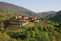 Village in macedonia Stock Photos