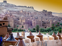 Village in Morocco Royalty Free Stock Photo