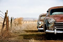 Vintage cars Royalty Free Stock Image