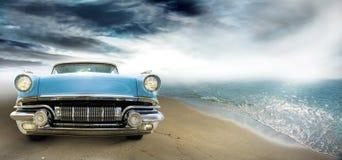 Vintage coupe Stock Photo