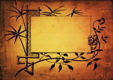 Vintage decorated paper Royalty Free Stock Photo