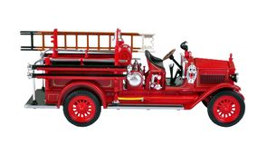 Vintage Fire Engine Stock Images