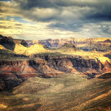 Vintage Grand Canyon Royalty Free Stock Image