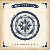 Vintage Nautical Compass Royalty Free Stock Images