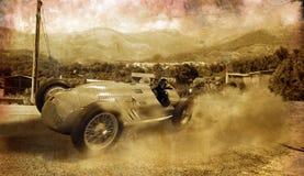 Vintage race car Stock Image