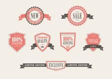 Vintage Retail Badges Stock Image