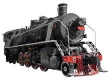 Vintage steam locomotive Stock Photos