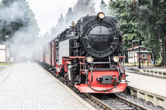 Vintage steam train Royalty Free Stock Image