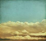 Vintage Storm Clouds Stock Images