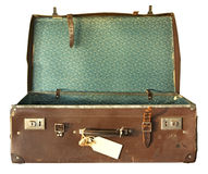Vintage Suitcase, Open Royalty Free Stock Image