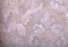 Vintage wallpaper with vignette victorian pattern Royalty Free Stock Image