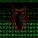 Virus computer Royalty Free Stock Photo