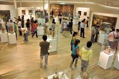Visita al museo Foto de archivo
