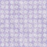 Vit dekorativ texturerat tyg Backgro för virvel design för lilor och Royaltyfri Foto