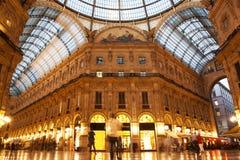 Vittorio Emanuele II Album. Milaan, Italië Royalty-vrije Stock Afbeelding