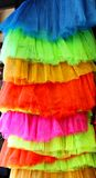 Vivid skirts Stock Images