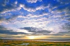 Vivid sky Royalty Free Stock Photo