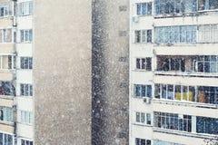 Vivid snow Stock Images