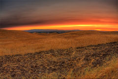 Vivid Sunset Stock Photo