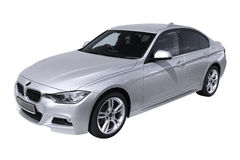 Voiture moderne BMW 3 (F30) Photographie stock libre de droits