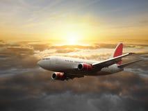 vol d'avion Photo libre de droits
