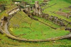 Volterra Roman theater Stock Photos