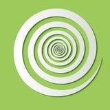 Volumetric paper spiral Stock Images