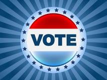 Vote election badge Stock Photo