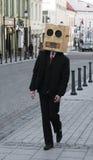 Vreemde passer Stock Foto