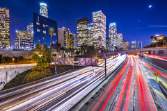 W centrum Los Angeles Obrazy Stock