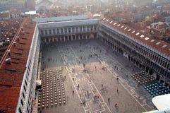w San marco square widok Fotografia Royalty Free