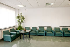 Waiting room Royalty Free Stock Photography