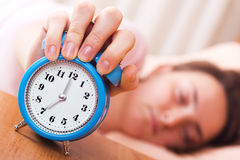 Wake up time  Stock Images