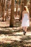 Walking away Royalty Free Stock Image