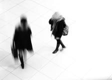 Walking women Royalty Free Stock Images